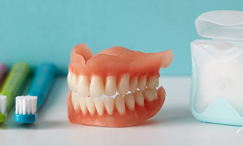Oral hygiene products for dental implants.