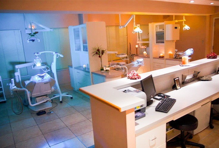 High tech dental patient treatment rooms
